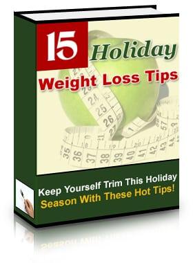 15 Holiday Weight Loss Tips