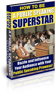 How To Be A Public Speaking Superstar 2