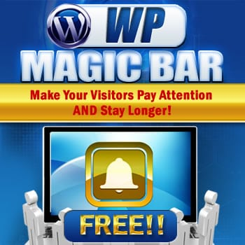 Magic bar Wordpress plugin