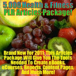 5000 PLR Articles