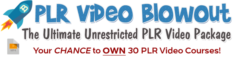 30 PLR Video Tutorials