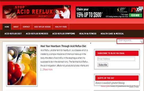 Acid Reflux Cure Blog