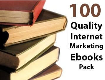 100 Quality Internet Marketing Ebooks